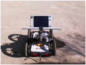 آنتن 250 مگاهرتز همراه با مانیتور، کنترل یونیت و CART